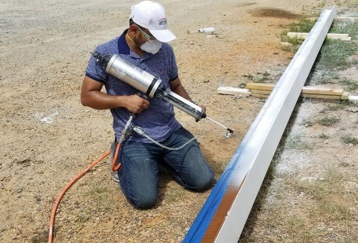 sameer coating rail for railroad